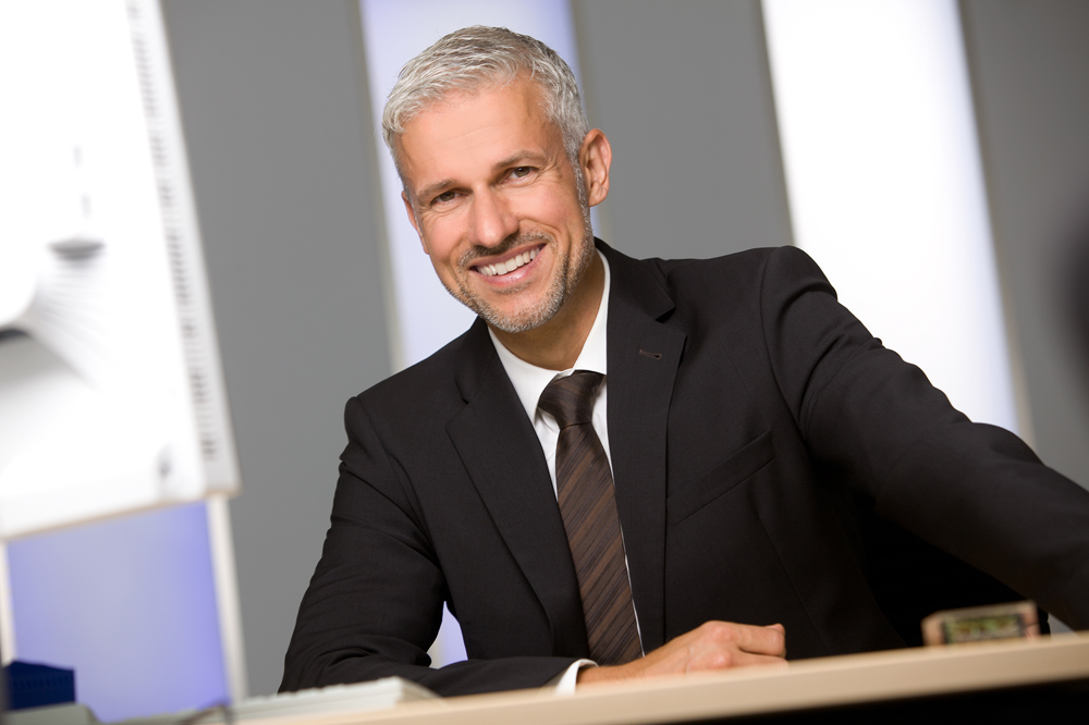 Titelbild Business-Portrait