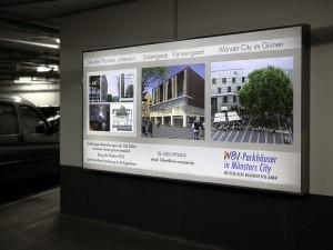 parkhaus-münster-werbung-leuchtbild-großformat
