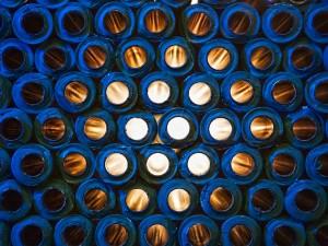 industriefoto-röhren-durchblick-licht-kunststoff-accotex-münster