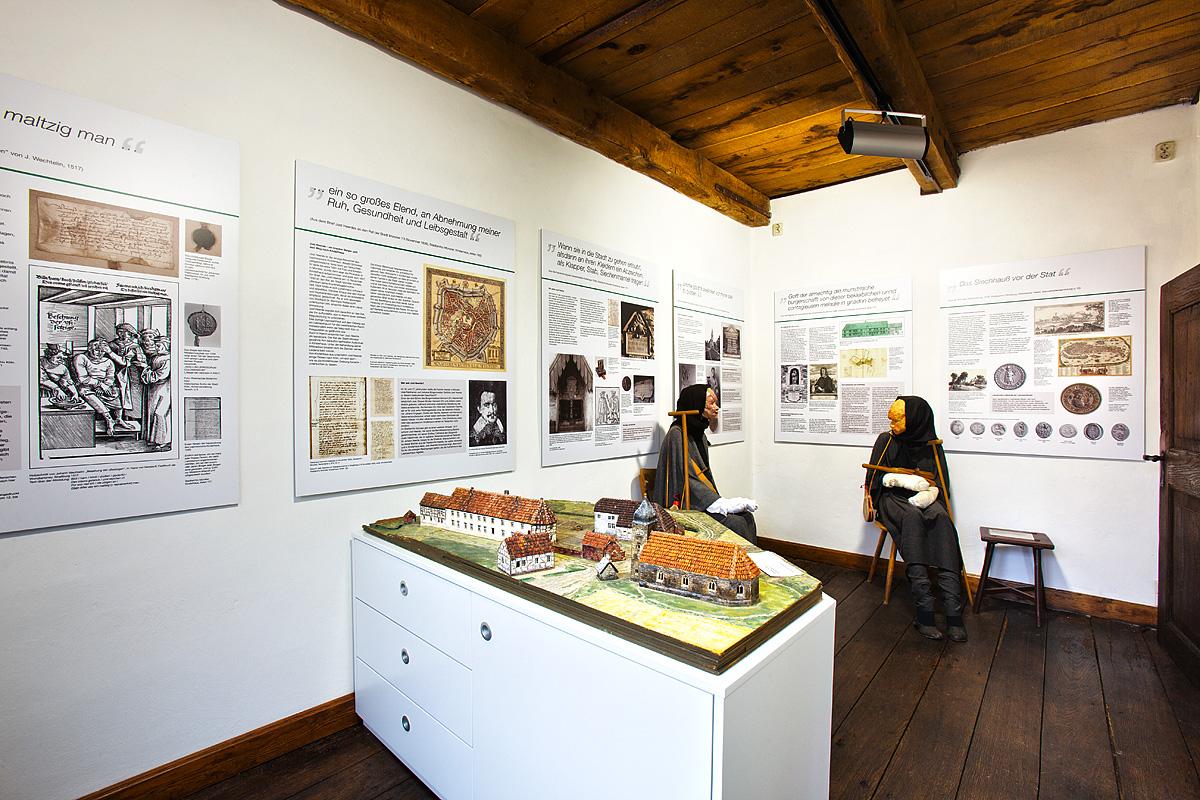 Ausstellung im Lepramuseum