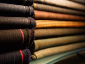 Produktfoto von Stoff für Unternehmensdarstellung