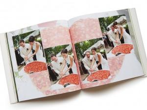 Hochzeitsfotograf, Beispiel Produkt Hochzeitsbuch