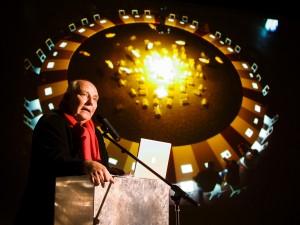 Veranstaltungsfoto, Redner mit Publikum