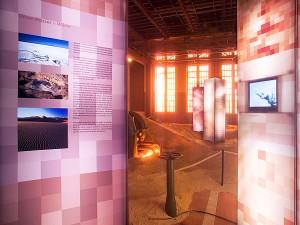 Eventfoto Ausstellung Lichtsäulen