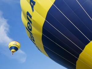 Eventfoto Detail eines Heißluftballons