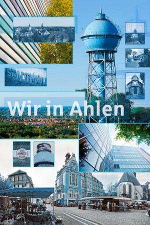 Bildbearbeitung, Collage aus Bildern für einen Flyer