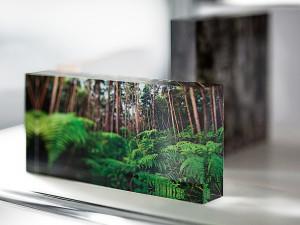 Acrylglas Block mit eigenem Motiv