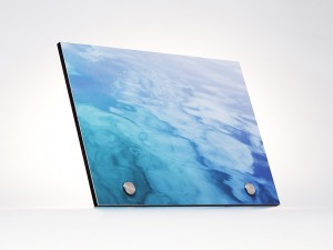 Alu Dibond Wandbild mit Wassermotiv