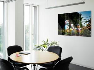 Wandbild Meeting Raum