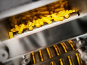 Industriefoto Herstellung von Tabletten