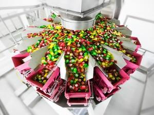 Industriefoto von Tabletten