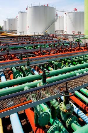 Industriefoto Rohrsystem