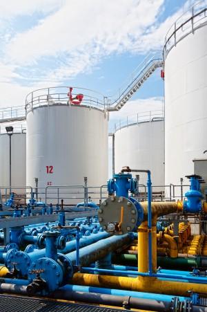 Industriefoto Gas und Energie