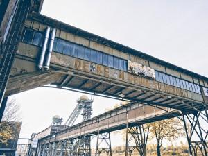 Objektfotografie, verlassene Fabrik