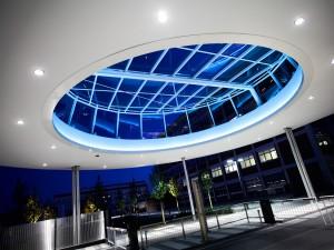 futuristische Architekturfotografie