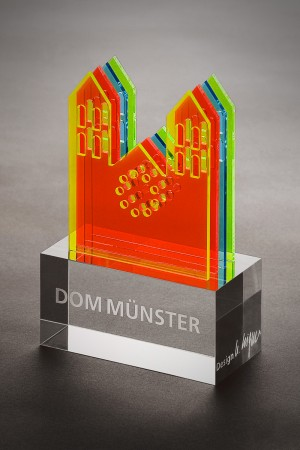Produktfotografie, Glasobjekt Dom Münster