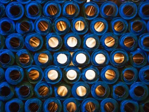 Industriefoto von Röhren in Szene gesetzt