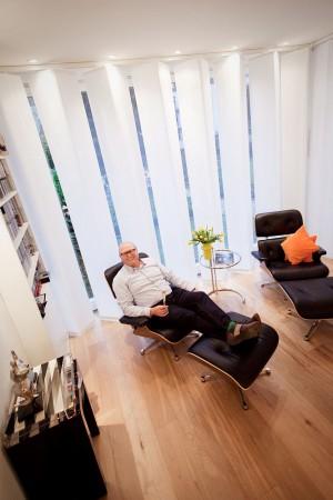 Interior Fotografie, Wohnraum mit Sessel