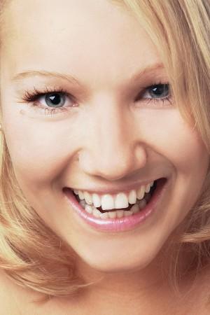 Beauty Portrait einer Frau mit nahem Bildausschnitt