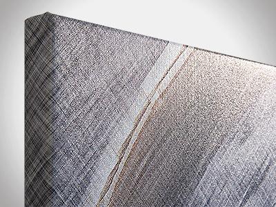 Wandbilder, Material Leinwand
