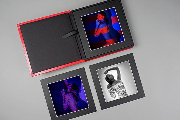Beispielfotos hoch veredelter Foto Prints auf Karton